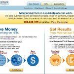Ganar dinero fácil por internet con Amazon Mechanical Turk, inteligencia humana no artificial