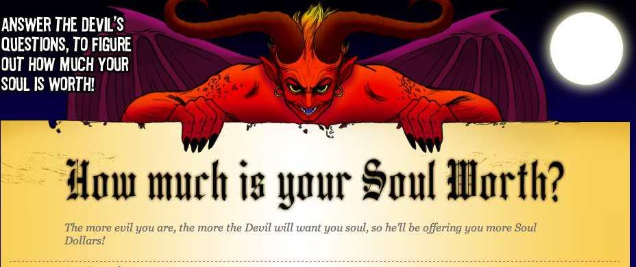 Ganar Dinero Vendiendo Su Alma Al Diablo Cuanto Vale Tu Alma O
